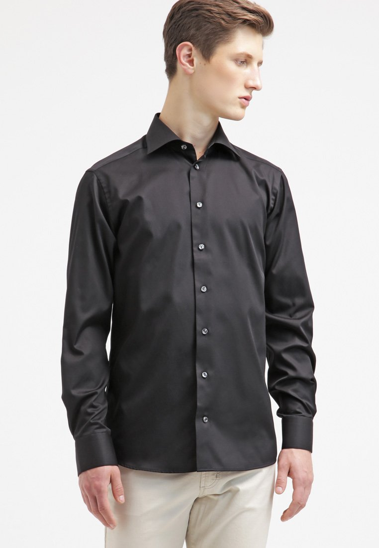 Eton - SLIM FIT - Formal shirt - black