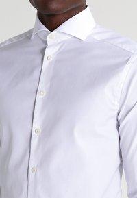 Eton - SUPER SLIM FIT - Kauluspaita - white - 3