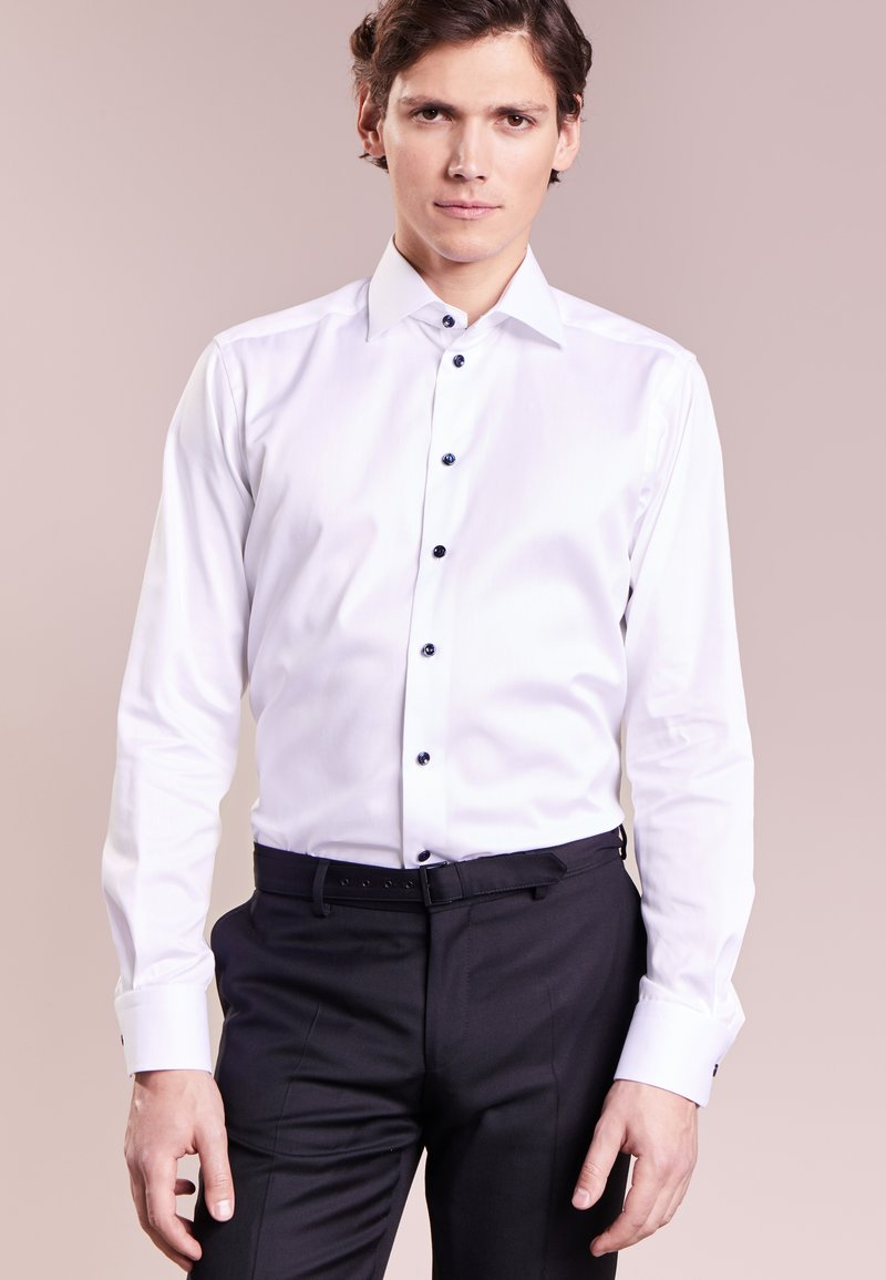 Eton - CONTEMPORARY FIT - Camisa elegante - white