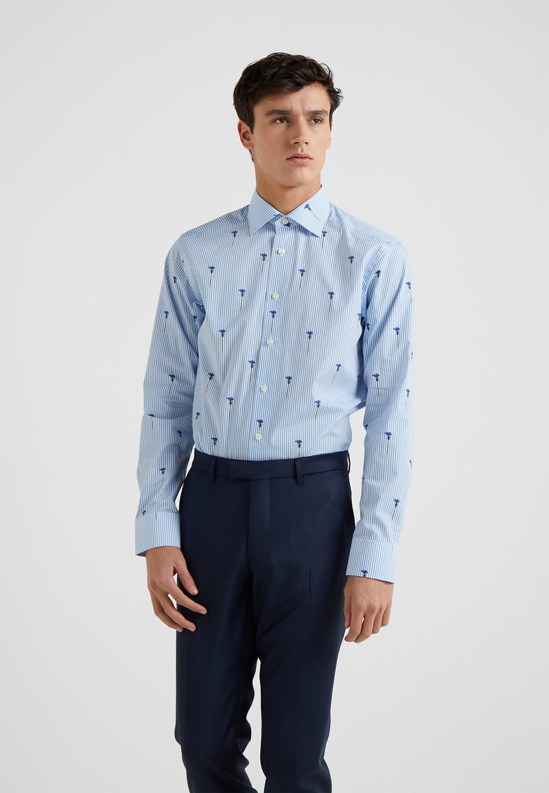 Eton - SLIM FIT - Camisa - light blue