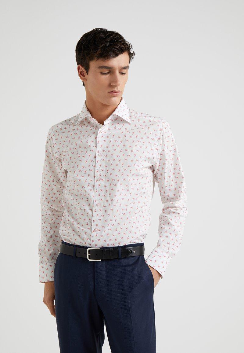 Eton - SLIM FIT - Businesshemd - white/flamingo