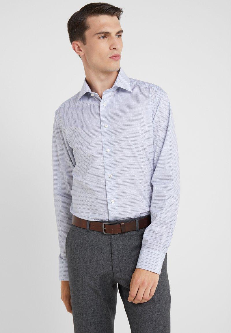 Eton - SLIM FIT - Vapaa-ajan kauluspaita - blau