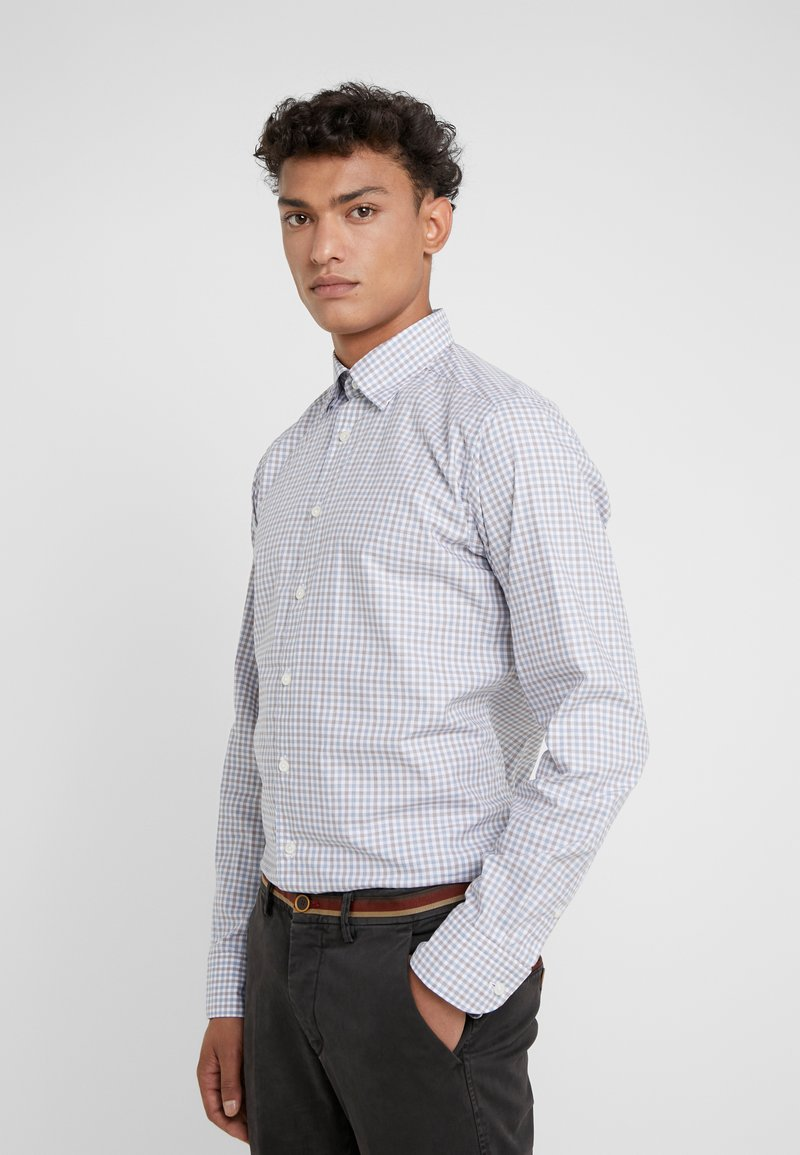 Eton - SLIM FIT - Chemise - blue/brown