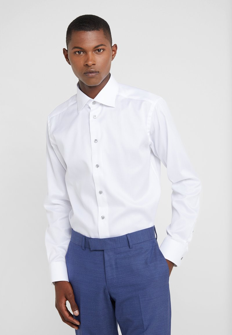 Eton - SLIM FIT - Camisa elegante - white
