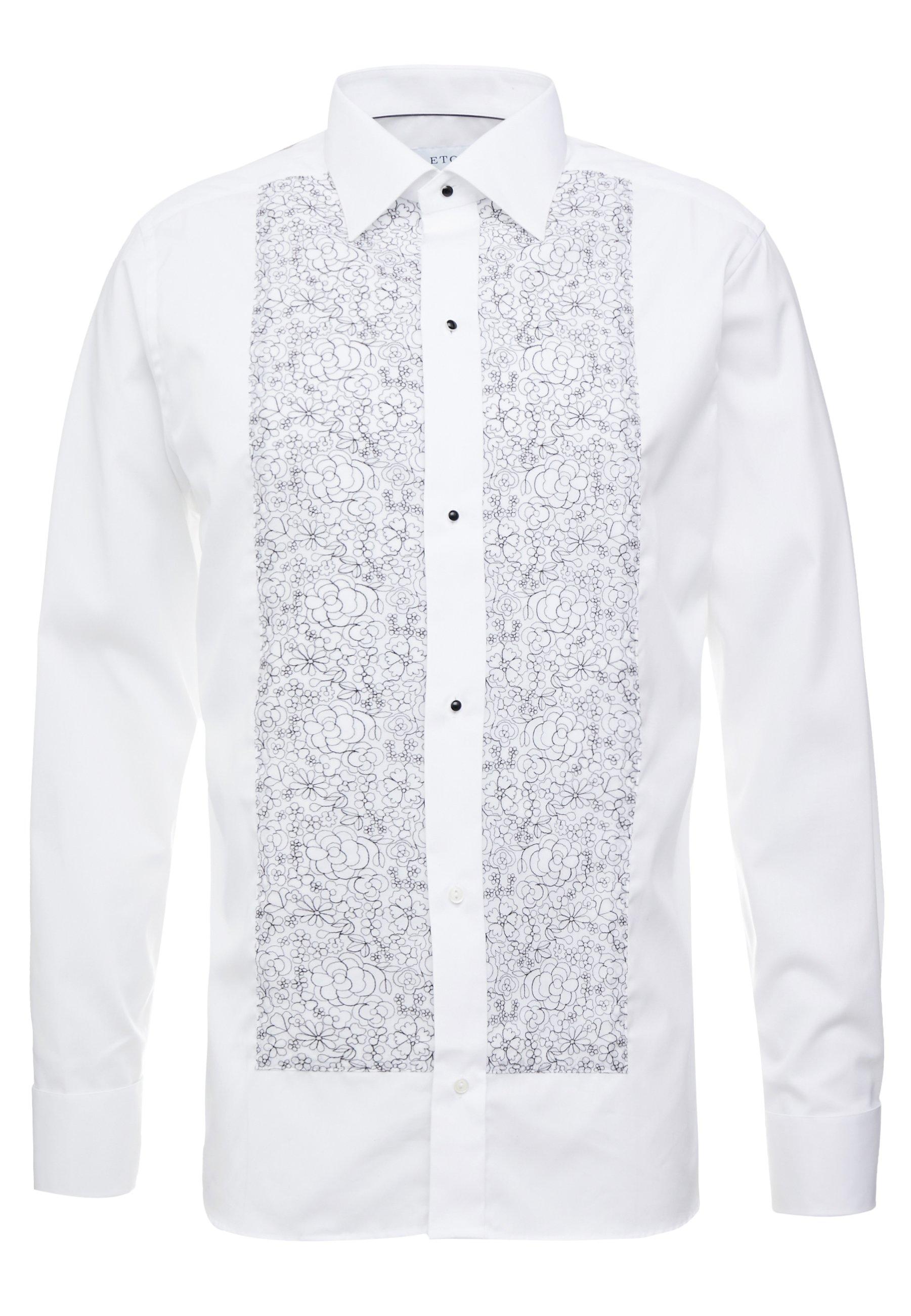 Eton SLIM FIT - Koszula biznesowa - white/black