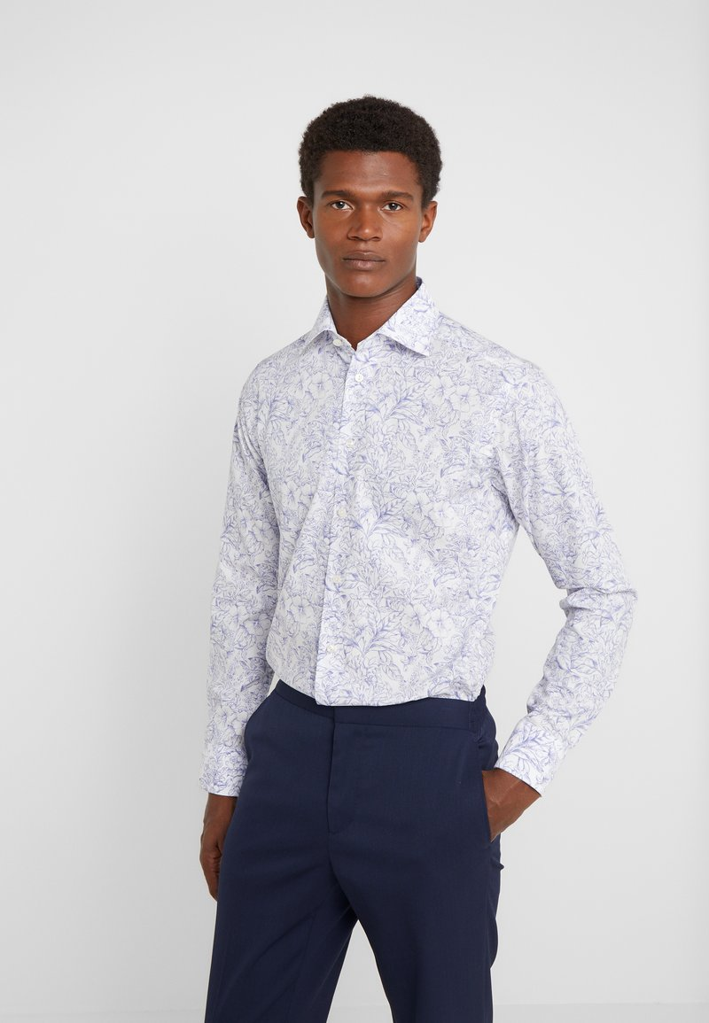 Eton - FLORAL - Skjorter - white