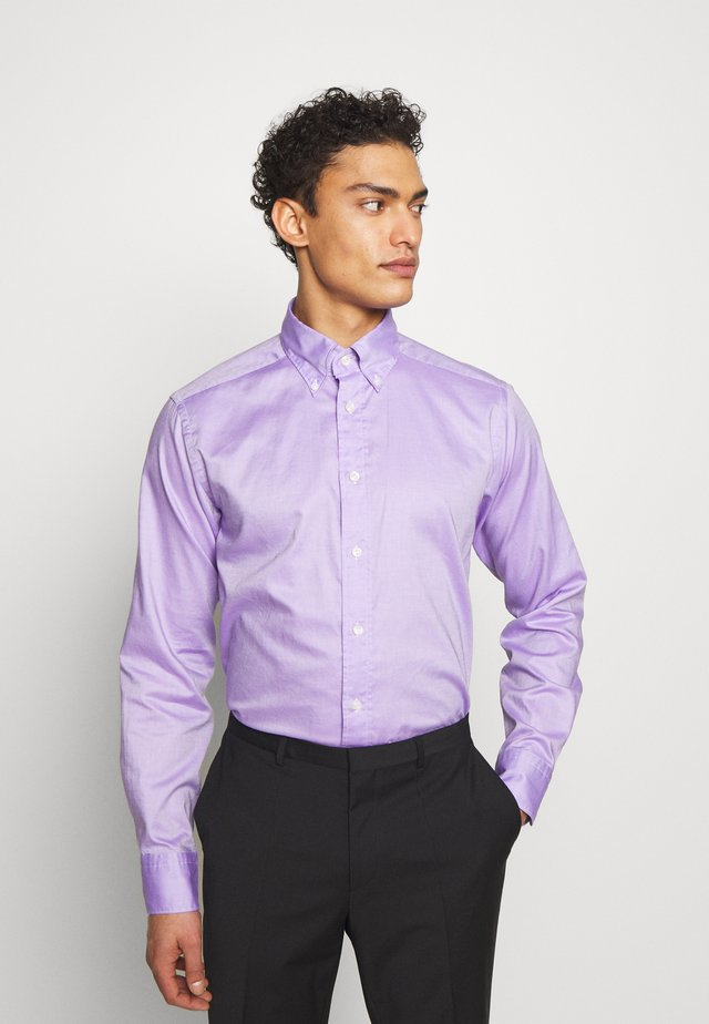 SLIM FIT - Kauluspaita - purple