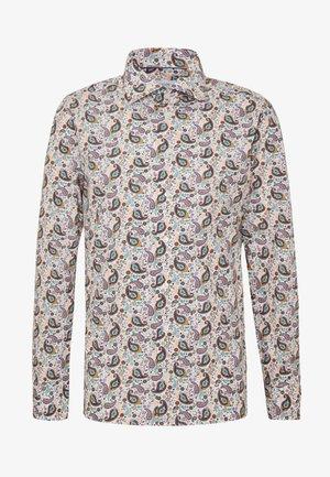SLIM FIT - Business skjorter - white/brown