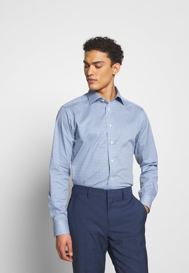 SLIM FIT - Businesshemd - blue/white