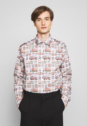 SLIM FIT  - Shirt - white/multi-coloured