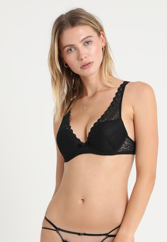 ICONE - Push-up bra - black