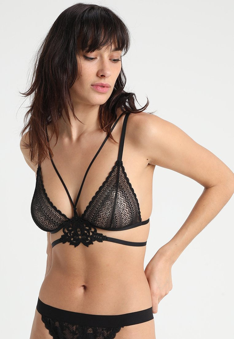 Etam - CROONER - Triangle bra - noir
