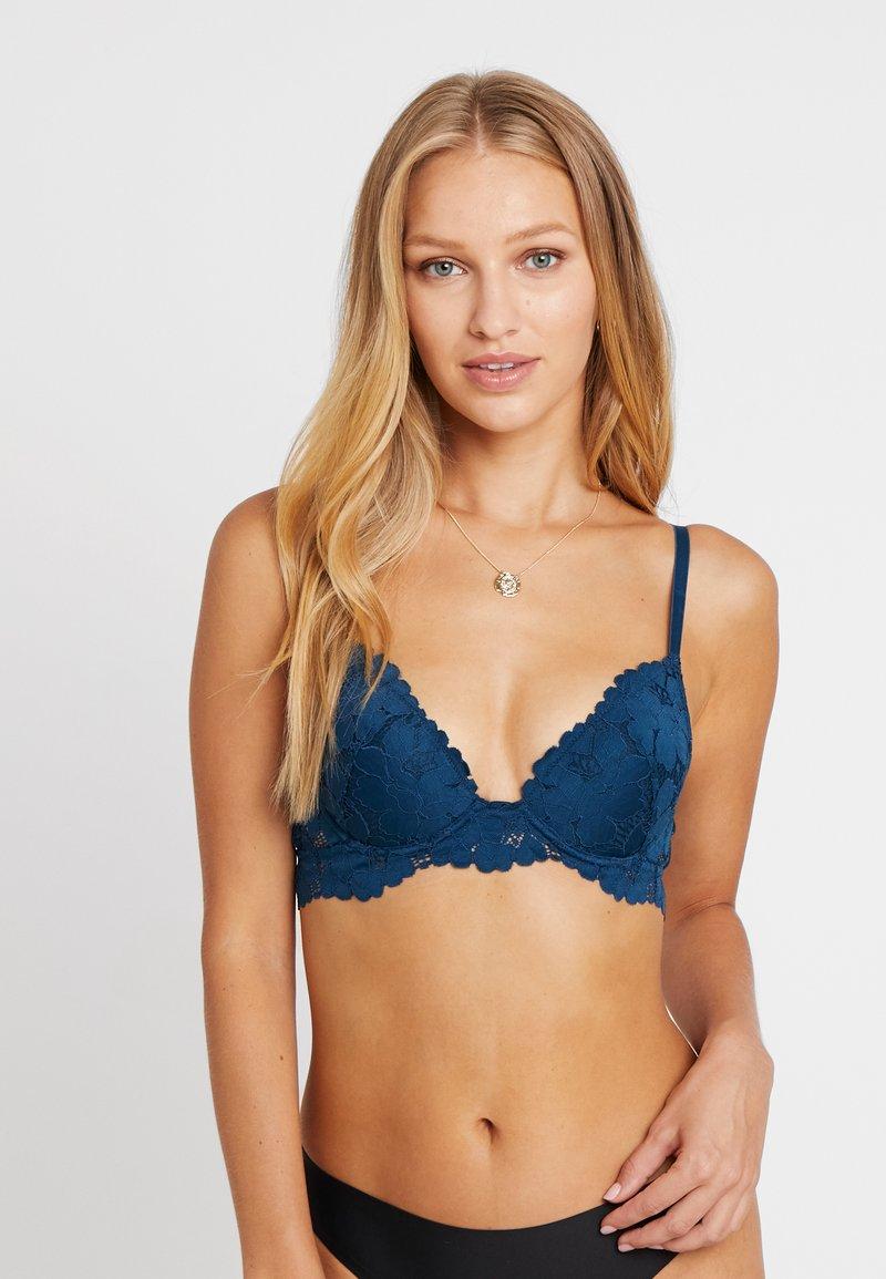 Etam - FRENCH KISS CLASSIQUE - Push up -rintaliivit - bleu canard