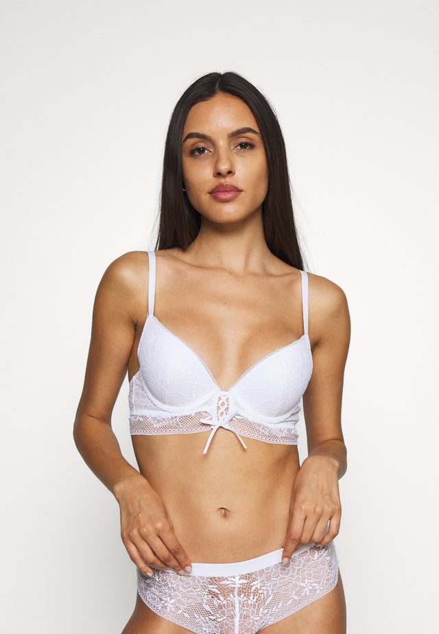 BELLE CLASSIQUE - Push-up podprsenka - white