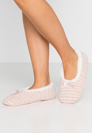 Slippers - rose