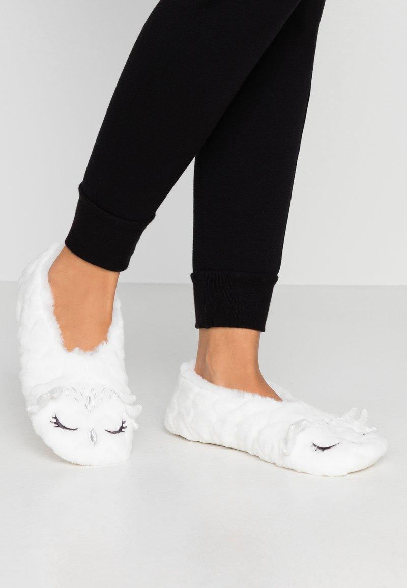 Etam - BRUNO - Slippers - blanc