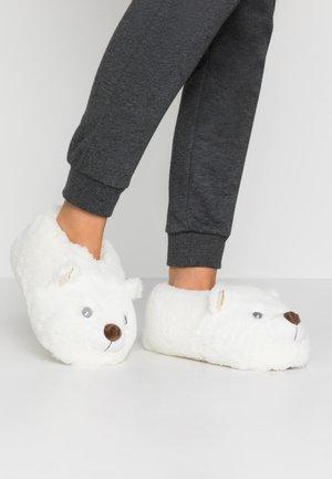 TERESA - Slippers - blanc
