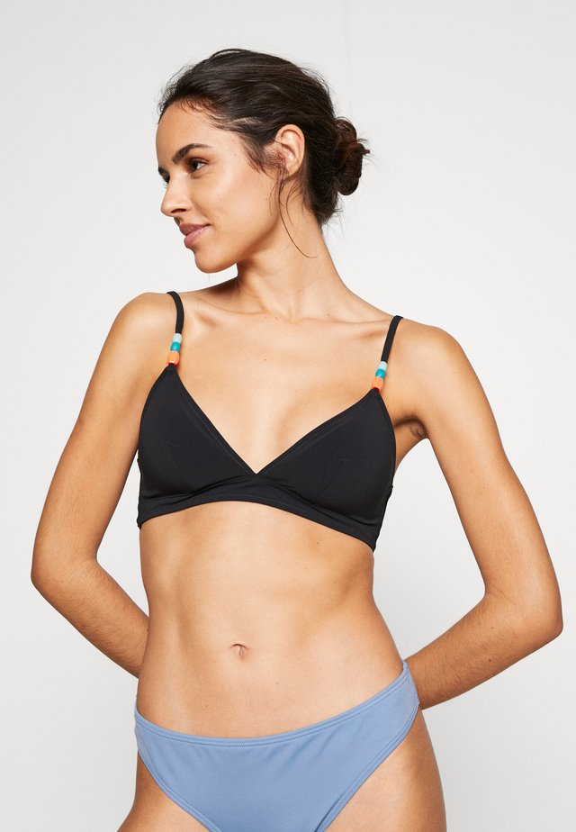 BILLIE TRIANGLE  - Bikini top - noir