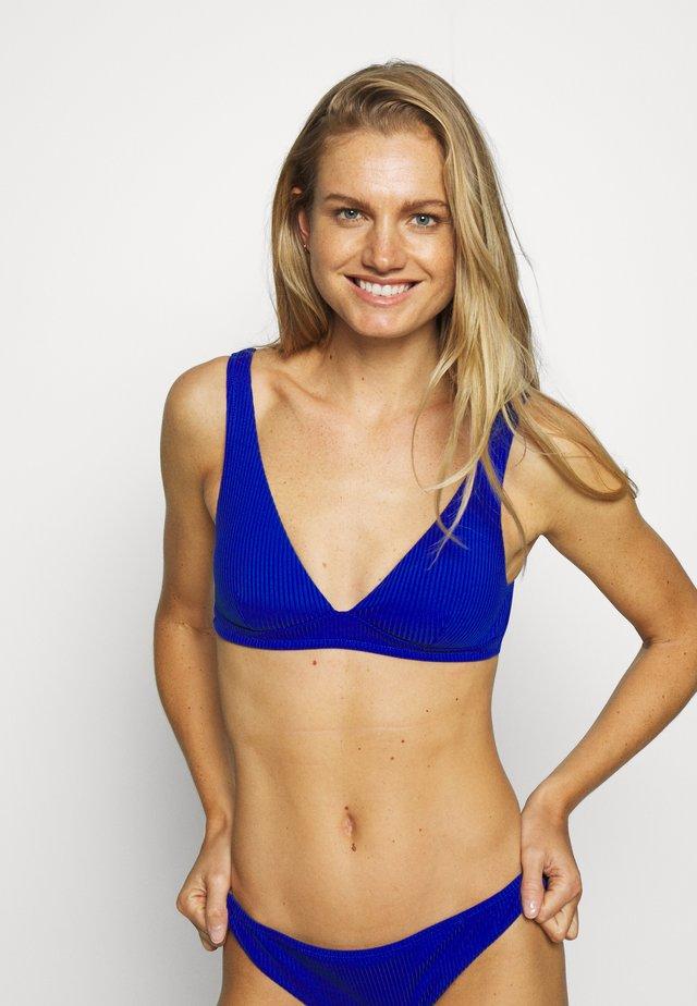 ISABEL TRIANGLE - Bikini-Top - bleu royal