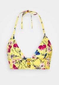 Etam - DELILAH TRIANGLE - Bikini-Top - jaune soleil - 3