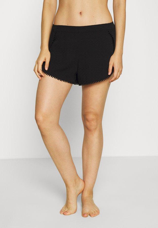 JENA SHORT - Pyjamabroek - noir