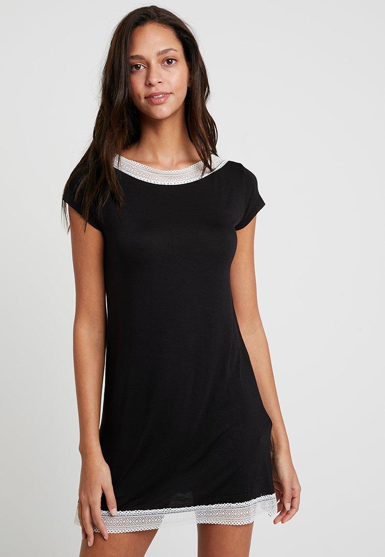 Etam - MINIA NUISETTE - Noční košile - noir