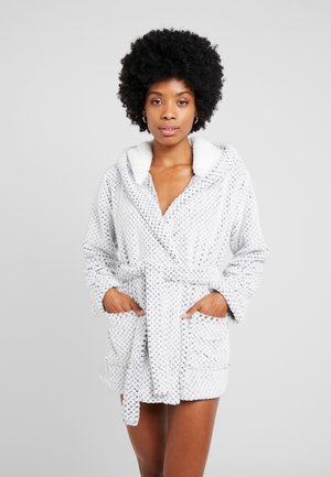 CHRISTY - Dressing gown - gris