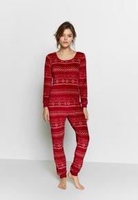 Etam - CONEY COMBI - Pijama - rouge - 1