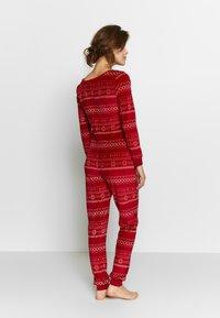 Etam - CONEY COMBI - Pijama - rouge - 2