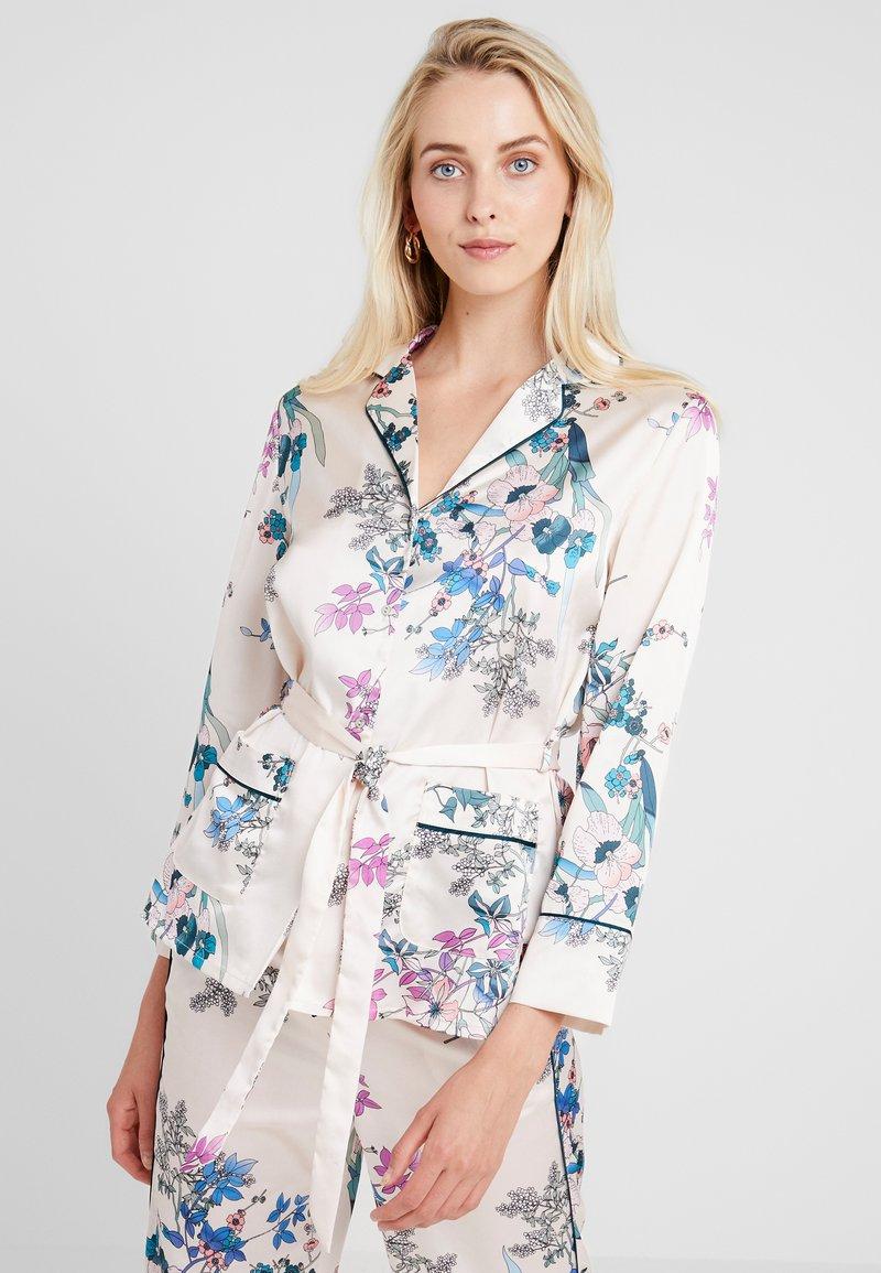 Etam - AQUARELLE CHEMISE - Pyjama top - ecru