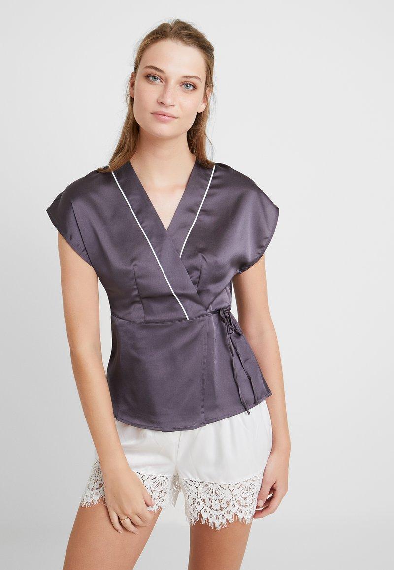 Etam - EPICE - Pyjama top - gris