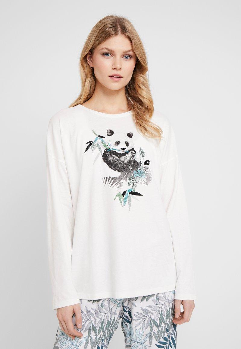 Etam - ARMELE - Nachtwäsche Shirt - ecru
