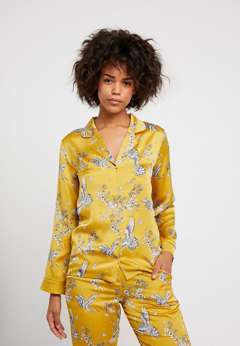 Etam - FEDORA - Pyjama top - jaune