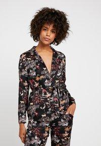 Etam - LEON CHEMISE - Pyjama top - imprime noir - 0