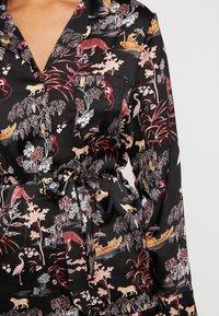 Etam - LEON CHEMISE - Pyjama top - imprime noir - 4