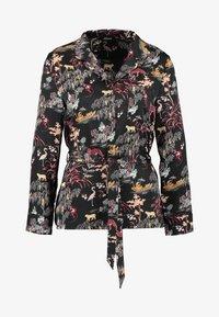 Etam - LEON CHEMISE - Pyjama top - imprime noir - 3