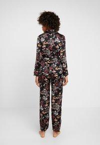 Etam - LEON CHEMISE - Pyjama top - imprime noir - 2
