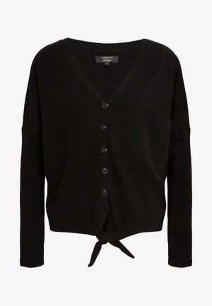 MELOUA LOUNGEWEAR - Pyjamashirt - noir