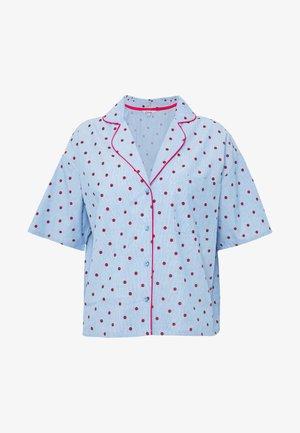 SOLANGE CHEMISE - Pyjama top - bleu