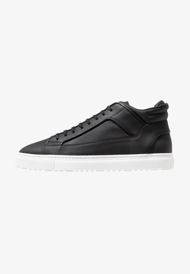 Sneakers high - black