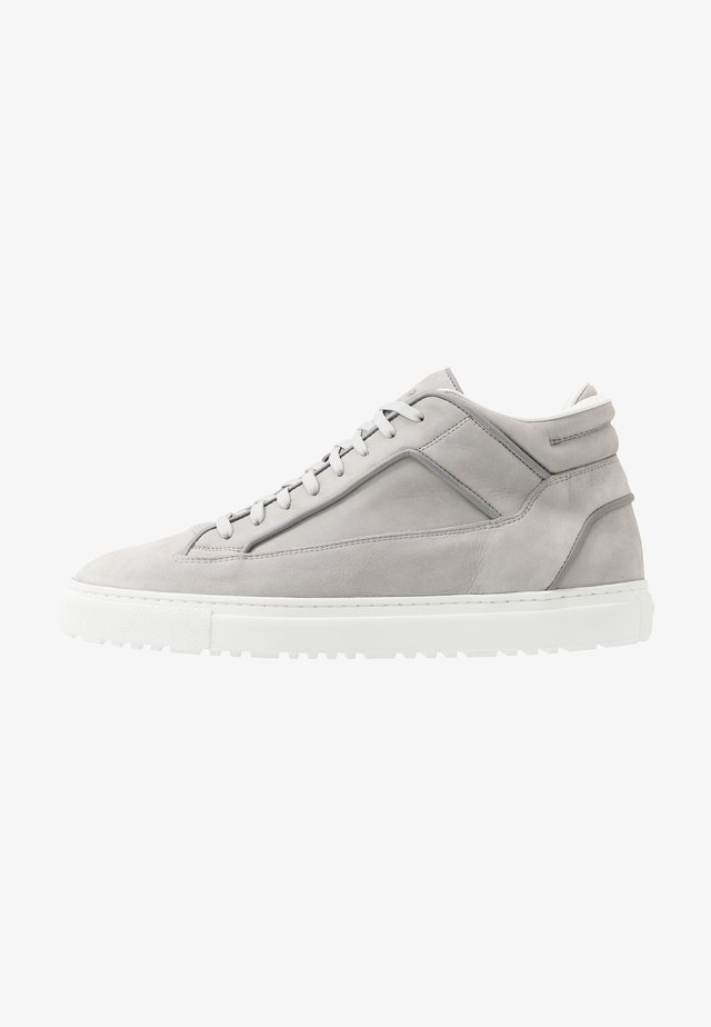 High-top trainers - alloy