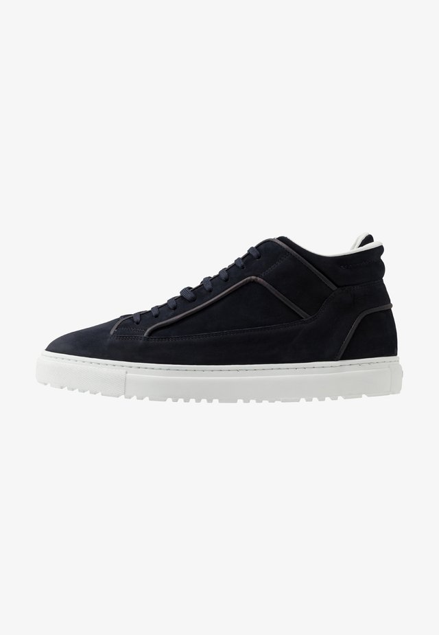 Sneakers hoog - blueberry