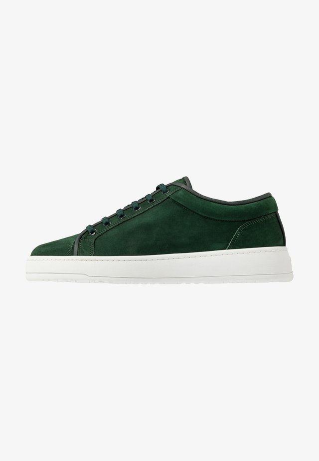 Sneakers laag - money green