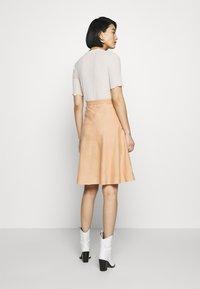 Ética - HARPER - A-line skirt - coffee - 2