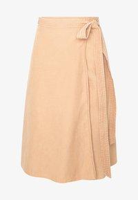 Ética - HARPER - A-line skirt - coffee - 3