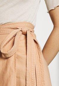 Ética - HARPER - A-line skirt - coffee - 4