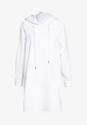 LAYLA HOODIE DRESS - Robe d'été - white