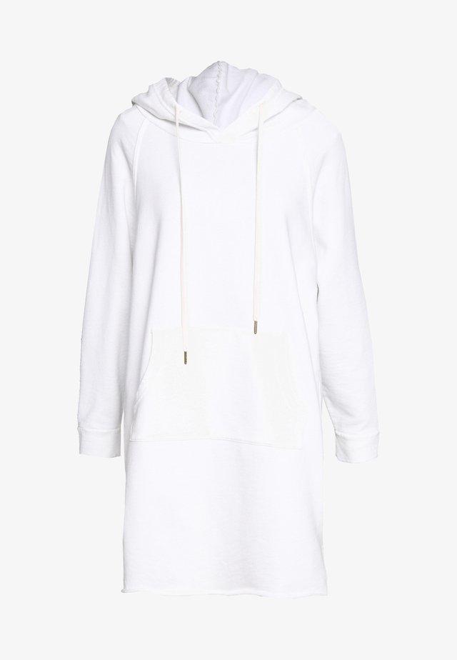 LAYLA HOODIE DRESS - Robe d'été - white