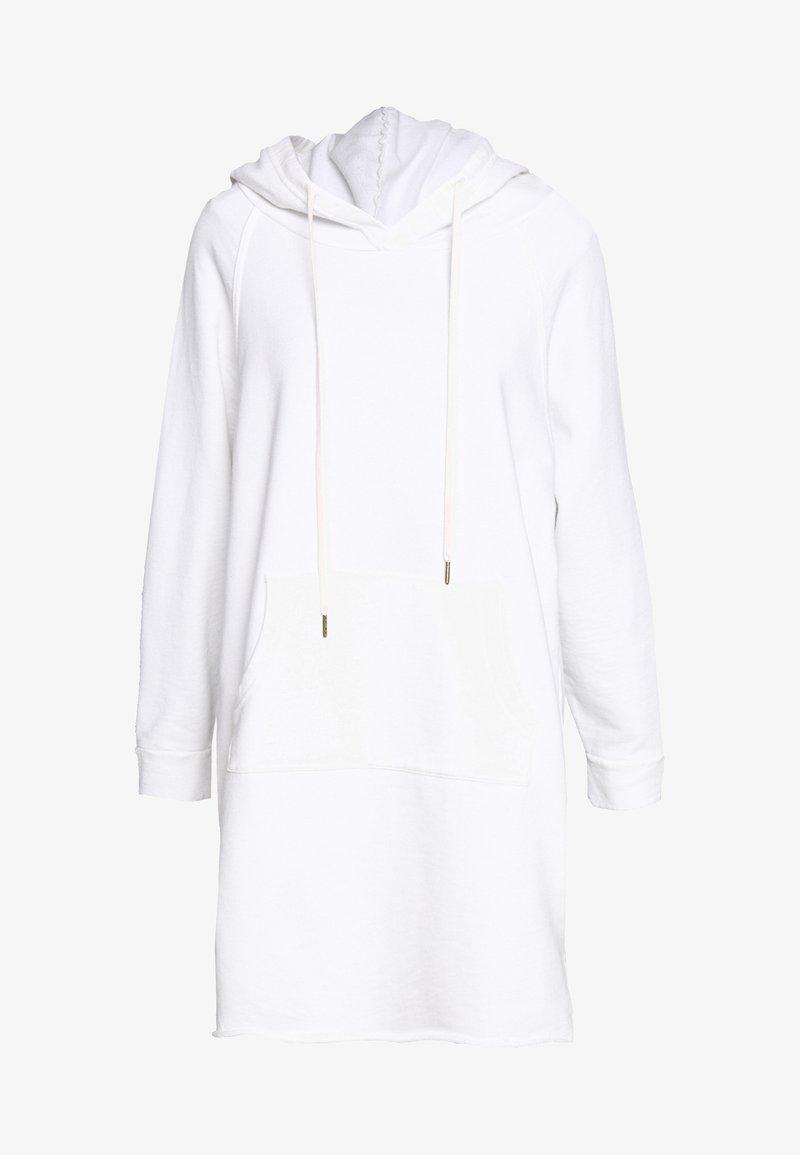 Ética - LAYLA HOODIE DRESS - Day dress - white