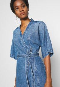 Ética - ELODIE - Denim dress - blue - 4